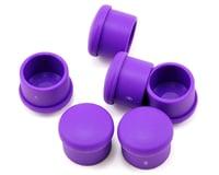 Hudy 18mm Plastic V2 Handle Cap Set (Violet) (6)