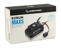 Image 3 for Hobbywing EZRun MAX5 V3 1/5 Scale Waterproof Brushless ESC (200A, 3-8S)