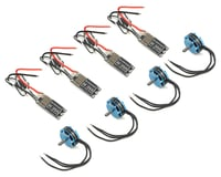 Hobbywing XRotor Micro 35A FPV Power Systems w/2405 Motors & Props (1800kv)