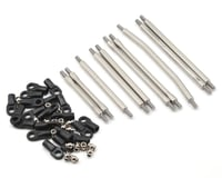 "Incision SCX10 II 1/4"" Stainless Steel Link Kit (10)"