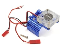 Team Integy 540/550 Motor Heatsink & Cooling Fan (Blue)