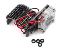 Image 1 for Team Integy Side Mount 540 Motor Heatsink w/Fan (Gunmetal)
