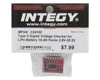 Image 2 for Team Integy Type II Digital Voltage Checker LiPo Battery (1S-6S)