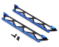 Team Integy Traxxas X-Maxx Side Protection Nerf Bars (Blue)