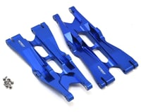 Team Integy Aluminum Traxxas X-Maxx Lower Suspension Arm (Blue) (2)