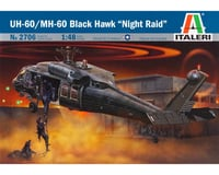 Italeri Models 1/48 UH-60A Black Hawk Night Raid