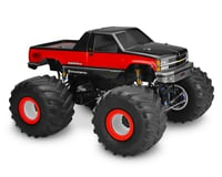 JConcepts 1988 Chevy Silverado Monster Truck Body (Clear) (Traxxas Stampede 4x4)