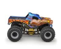"JConcepts 2005 Chevy 1500 MT ""Samson"" Single Cab 12.5 Monster Truck Body (Clear) (Axial SMT10)"