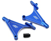 Image 1 for JConcepts Aluminum Rear Wing/Body Mount Set (Blue)