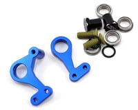 JConcepts RC10 Classic Aluminum Steering Bell Crank Set (Blue) | relatedproducts