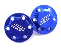 """JConcepts Team Associated RC10 Classic """"Finnisher"""" Wing Buttons (Blue)"""