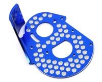JConcepts Team Associated RC10 Classic Aluminum Honeycomb Rear Motor Plate (Blue)