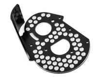 JConcepts Team Associated RC10 Classic Aluminum Honeycomb Rear Motor Plate (Black)