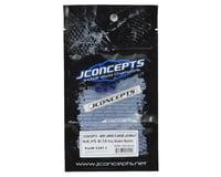 Image 2 for JConcepts 4mm Large Flange Serrated Locking Wheel Nut Set (4) (Blue)