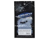 Image 2 for JConcepts 4mm Large Flange Serrated Locking Wheel Nut Set (4) (Black)