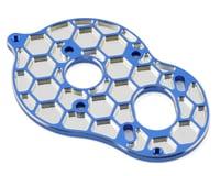 Image 1 for JConcepts Associated B6 'Honeycomb' 3 Gear Standup Motor Plate (Blue)