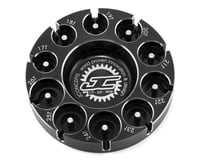 JConcepts Aluminum Pinion Puck Modified Range (Black)