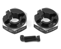 JConcepts B6/B6D 5.0mm Aluminum Lightweight Clamping Wheel Hex (2) (Black) | alsopurchased