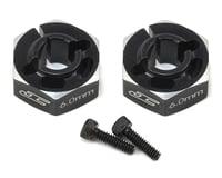 JConcepts B6/B6D 6.0mm Aluminum Lightweight Clamping Wheel Hex (2) (Black) | relatedproducts