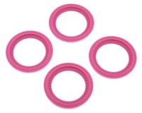 JConcepts Tribute Monster Truck Wheel Mock Beadlock Rings (Pink) (4) | relatedproducts