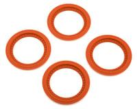 JConcepts Tribute Monster Truck Wheel Mock Beadlock Rings (Orange) (4) | alsopurchased