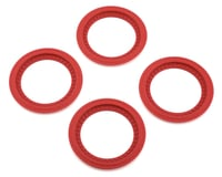JConcepts Tribute Monster Truck Wheel Mock Beadlock Rings (Red) (4) | relatedproducts