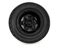 Image 2 for JConcepts Goose Bumps 2.8 Pre-Mounted Front Wheels (Tense) (2) (Black) (Green)
