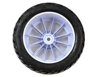Image 2 for JConcepts G-Locs 2.8 Pre-Mounted w/Rulux Rear Wheels (2) (White) (Yellow)