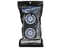 Image 3 for JConcepts G-Locs 2.8 Pre-Mounted w/Rulux Rear Wheels (2) (White) (Yellow)