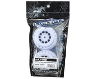 Image 2 for JConcepts 12mm Hex Hazard Front Wheel w/3mm Offset (White) (2) (SC10B)