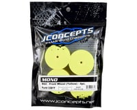 Image 2 for JConcepts 12mm Hex Mono Front Wheel (Yellow) (4) (B74)