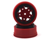 JConcepts Tremor Short Course Wheels (Red) (2) (Slash Front)