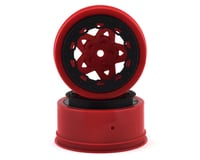 JConcepts Tremor Short Course Wheels (Red) (2) (Slash Rear)