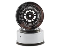 JConcepts Tactic Street Eliminator Rear Drag Racing Wheels (2) (Chrome) (Traxxas Slash)