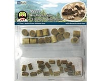 "JTT Scenery Hay Bales, 1/2"" (35) 