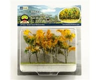 """JTT Scenery Woods Edge Trees, Fall Mixed 3-3.5"""" (9)"""