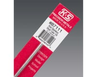 """K&S Engineering Round Stainless Steel Tube 1/8"""", Carded"""