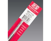 """K&S Engineering Round Stainless Steel Tube 3/16"""", Carded"""