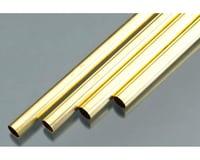 "K&S Engineering Rd Brass Tube .014x7/16"""