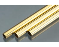 "K&S Engineering Round Brass Tube,36"",17/32 (3)"