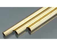 K&S Engineering Rd Brass Tube .014x9/16""