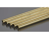 "K&S Engineering Round Brass Tube,36"",5/16 (5)"