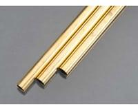 "K&S Engineering Rd Brass Tube .029x9/16"""