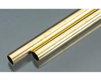 K&S Engineering Rd Brass Tube .029x11/16""