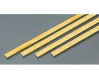 "K&S Engineering Brass Strips,36"",.064 x 1/4 (4)"