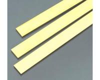 "K&S Engineering Brass Strips 36"", .064 x 1/2 (1)"