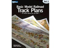 Kalmbach Publishing Basic Model Railroading Track Plans, Volume 2