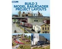 Kalmbach Publishing Three Model Railroad Project Layouts