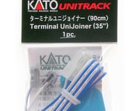 "Kato HO/N Terminal UniJoiner w/35"" Leads (1pr)"