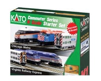 HO F40PH Starter Set Metra | relatedproducts